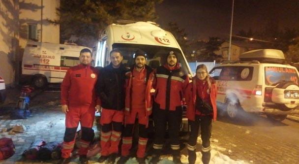 Karabük, Zonguldak ve Bartın'dan Elazığ'a 29 kişilik ekip sevk edildi