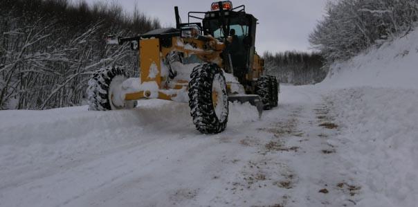 29 Köy Yolu Ulaşıma Açıldı