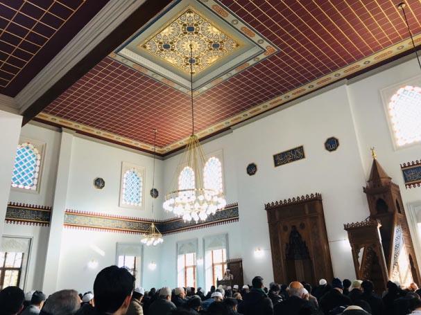 Dedeoğlu camii yeni ihtişamı ile ibadete açıldı