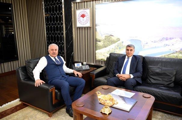 Vali Gürel, DSİ Genel Müdürü'nü ziyaret etti