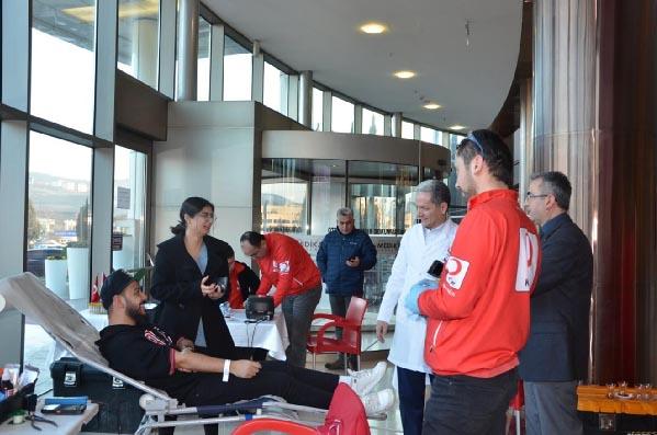 Kan ve Kök Hücre bağışına Medikar Hastanesi'nden destek