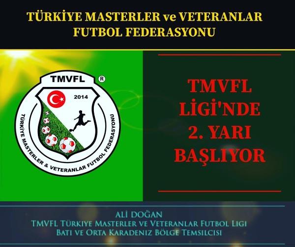 TMVFL Batı Karadeniz Bölgesinde İkinci Yarı Başlıyor