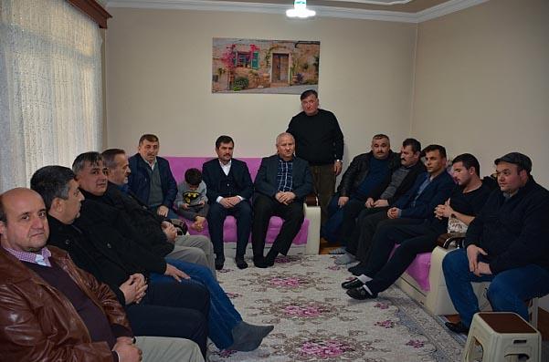 Başkan Çaylı Rasulayn'da yaralanan askeri ziyaret etti