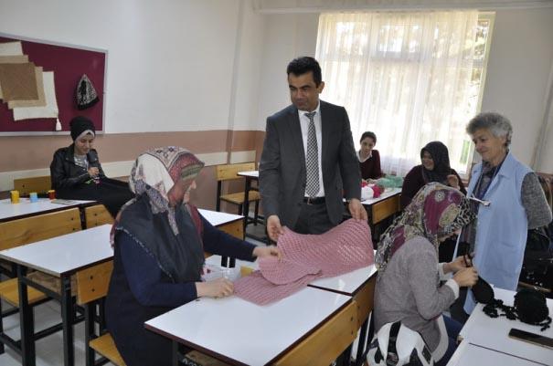 Halk Eğitim kurslarına yoğun talep