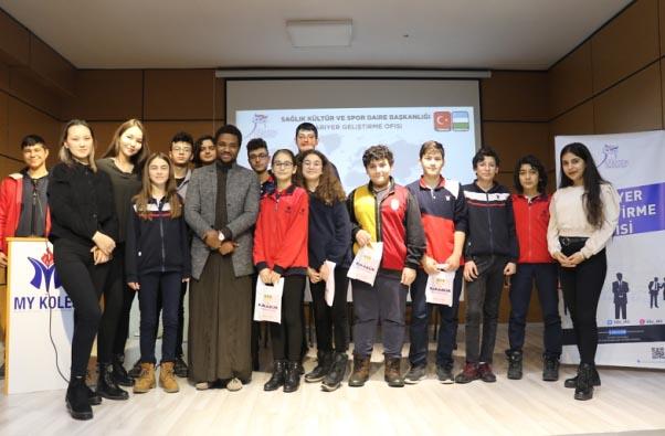 Uluslararası Öğrenciler Liselilerle Buluşuyor