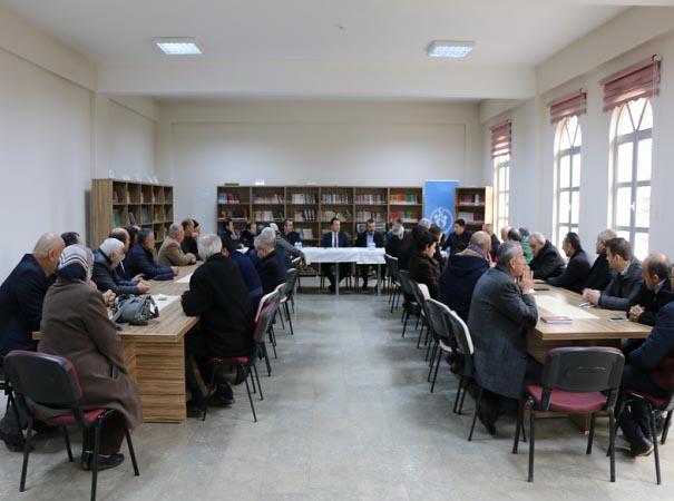 Eskipazar'da okul güvenliği toplantısı yapıldı