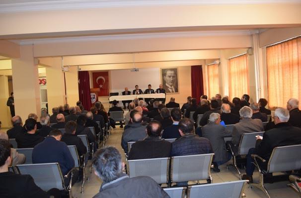 Eflani'de köylerin sorunları görüşüldü