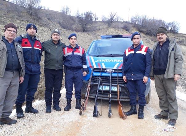 Kaçak avcılara 6 bin lira ceza