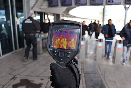 KARDEMİR'de Termal Kamera Uygulaması