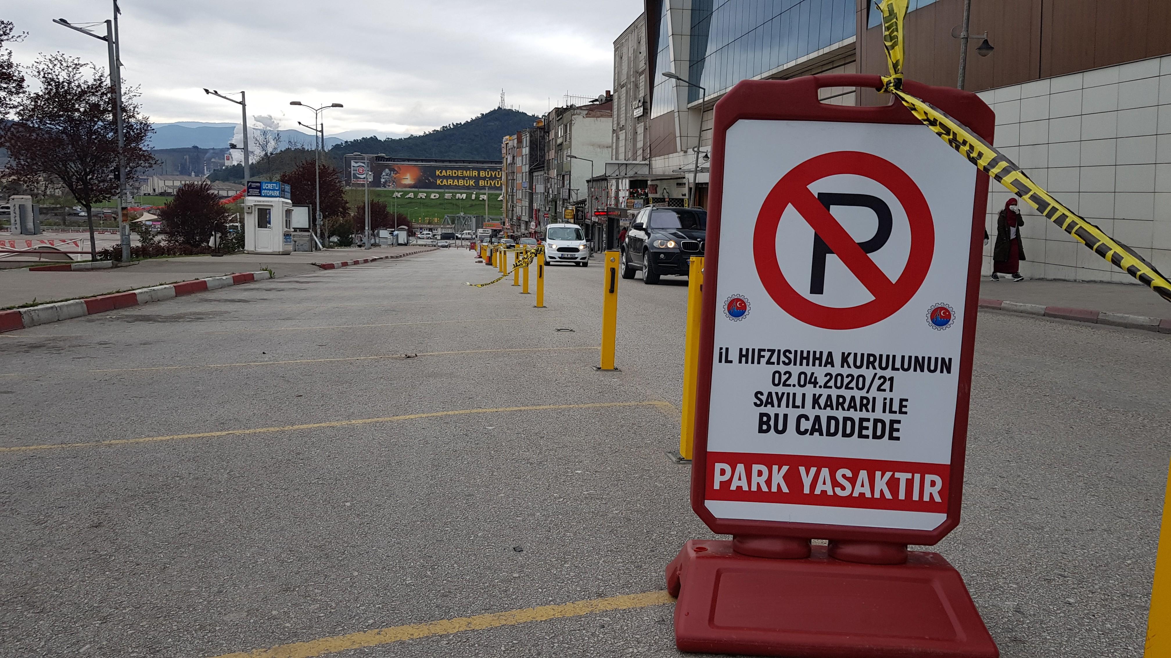 Bazı cadde ve sokaklara araç park yasağı