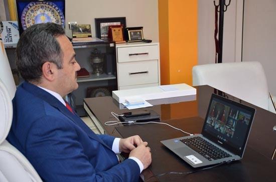 AK Parti İl Başkanları video konferansta Cumhurbaşkanı ile görüştü