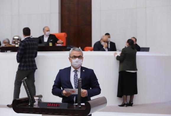 Milletvekili Ünal TBMM'de KARDEMİR ve Karabük'ü konuştu