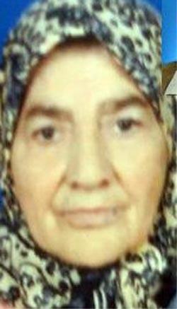 Oğlu tarafından öldürülen anne defnedildi