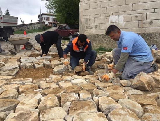 Safranbolu Belediyesinde çalışmalar sürüyor