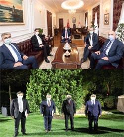 Vali Gürel ve milletvekillerinden Bakan ziyaretleri