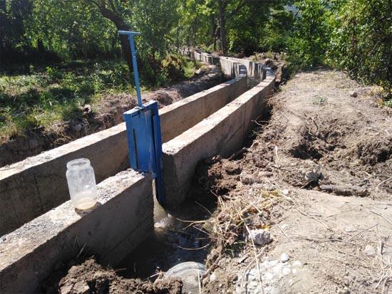 Sulama tesisi onarım çalışmaları sürüyor