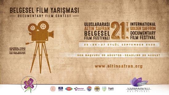 Altın Safran Belgesel Film Festivali 25-27 Eylül'de