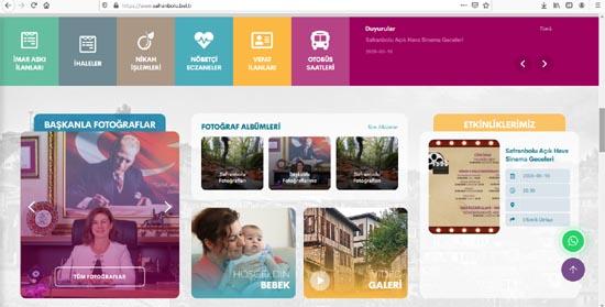 Safranbolu Belediyesi yeni web sitesini kullanıma açtı