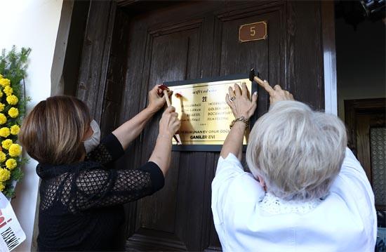 130 Yıllık tarihi konağa 'En İyi Korunan Ev' plaketi