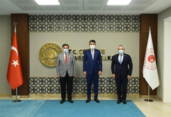 Bakan Kurum'dan Karabük'e 3.5 Milyon TL'lik yatırım sözü