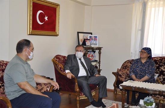 Kaymakam Türköz'den anlamlı ziyaret