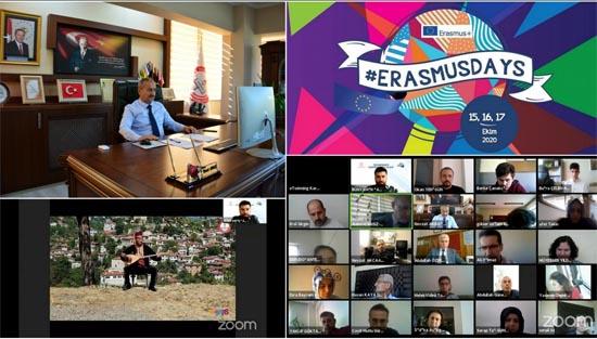 Erasmus Günleri #ERASMUSDAYS etkinlikleri düzenlendi