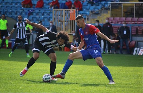 2.Lig: KardemirKarabükspor: 0 – Etimesgut Belediyespor: 0
