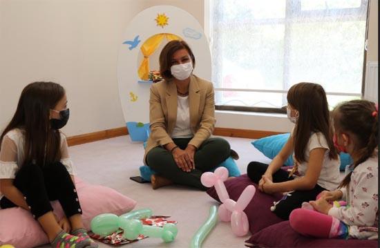 """Safranbolu'da """"Safran Çocuk Oyun Evi"""" hizmete açıldı"""