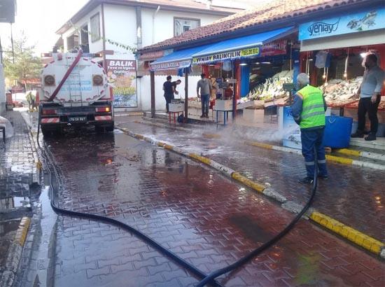 Safranbolu'da temizlik çalışmaları