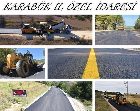 Üç ayda 114 bin 527 ton asfalt serimi yapılarak 90 km hedefini aşıldı