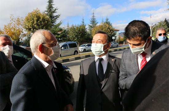 CHP Lideri Kılıçdaroğlu Karabük'e Geldi