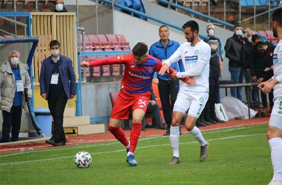 2.Lig: KardemirKarabükspor: 0 – 1922 Konyaspor: 5
