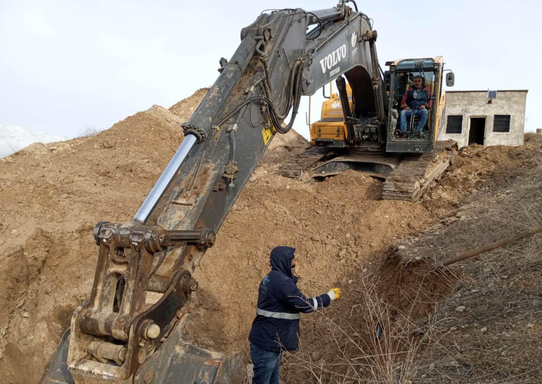 Safranbolu'da alt yapı çalışmaları sürüyor