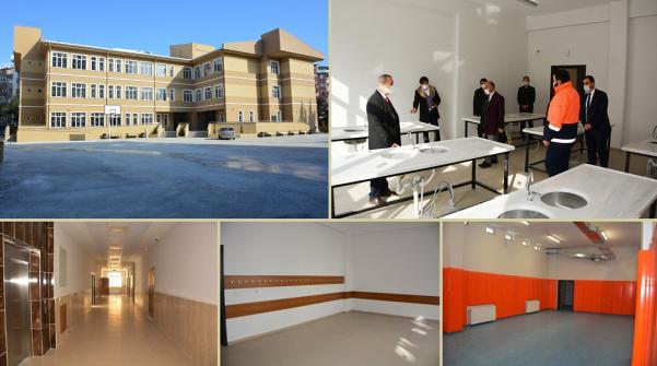 Anayasa Ortaokulu ek binası tamamlandı