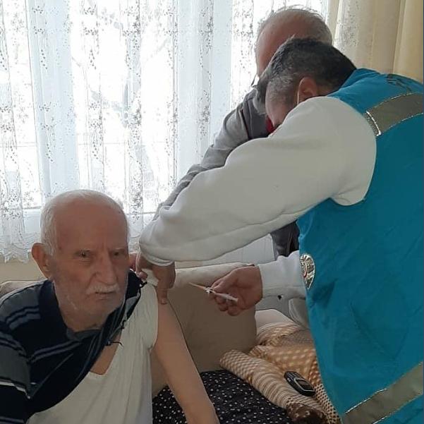 Karabük'te 21 bin 229 kişiye aşı yapıldı