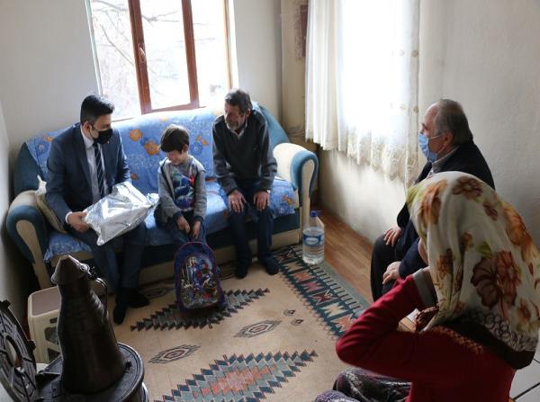 Eskipazar Kaymakamından ev ziyaretleri