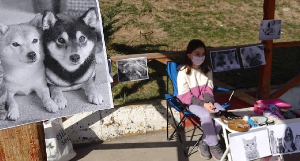 10 Yaşındaki İpek'ten Büyük Fedakarlık