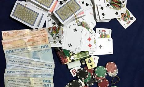 12 Kişi kumar oynarken suçüstü yakalandı