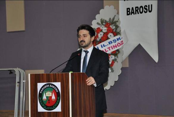 KarabükBarosu'nun yeni Başkanı Emrak Köklü oldu
