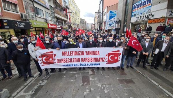 KarabükMilli İrade Platformu'nda 'Montrö Bildirisi'ne tepki